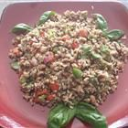 Quinoa, Rice, Black-Eyed Pea Salad Recipe created by Ruth, Kathryn, Lisa and me :) (sort of)