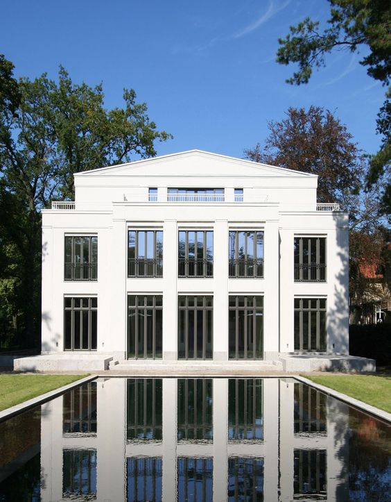Neo classical house by vogel architekten timeless for Neoclassical house