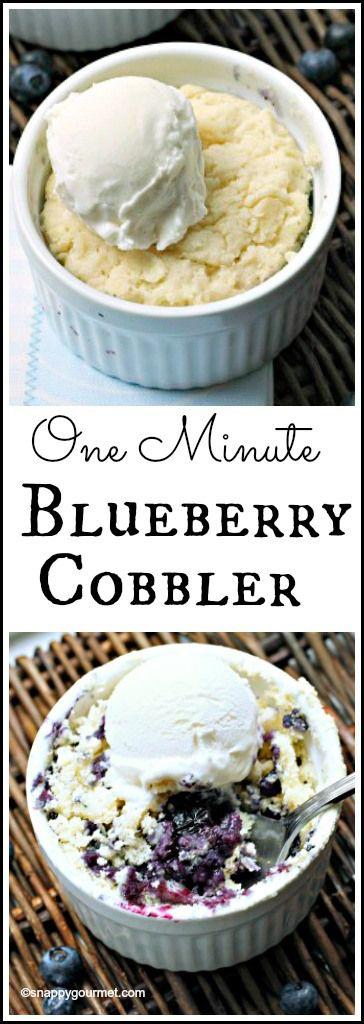 Blueberry cobbler, Blueberry cobbler recipes and Cobbler recipe on ...