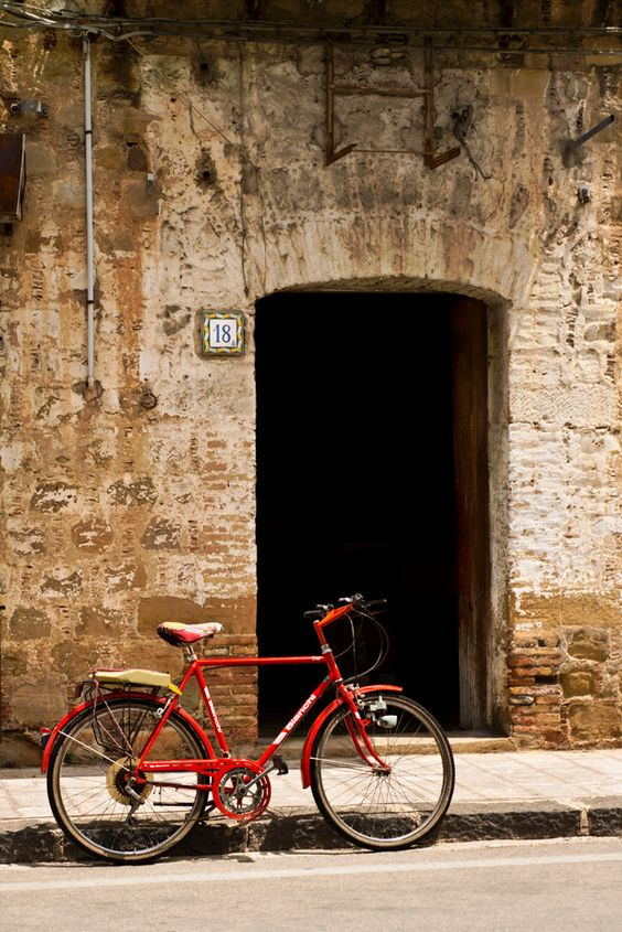 "Bicycle ""Red"" by JoAnnArduini on Etsy"