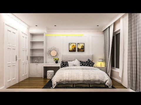 Architectural Visualizations Nice Bedroom 029 Render Using Vray