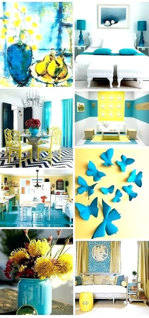 Teal And Yellow Living Room Ideas Turquoise Bedroom Traditional Find Home De Decor