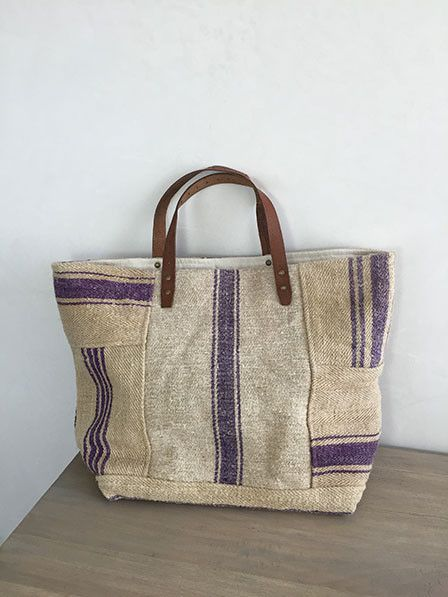 French Cabas - Francette Large - purple