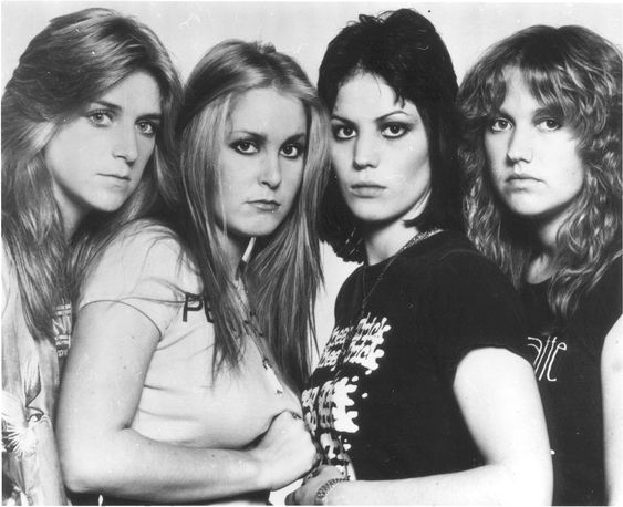 The Runaways with Joan Jett & Lita Ford