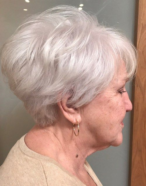 The Best Hairstyles And Haircuts For Women Over 70 Thick Hair Styles Thick Hair Pixie Hairstyles For Thin Hair