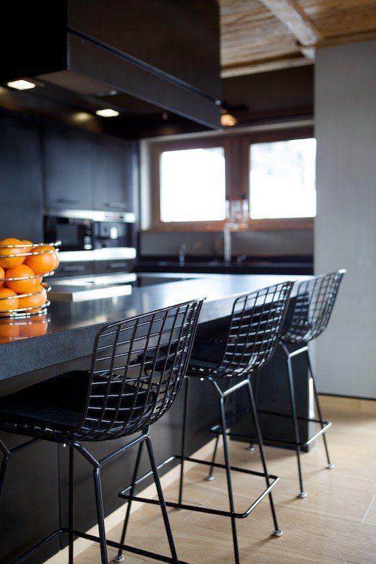Chalet Cyanella, chamonix, 2007 by Bo Design #architecture #chalet #design #kitchens