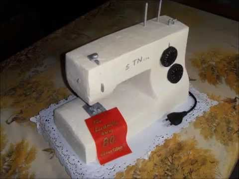 Cake Sewingmachine - YouTube