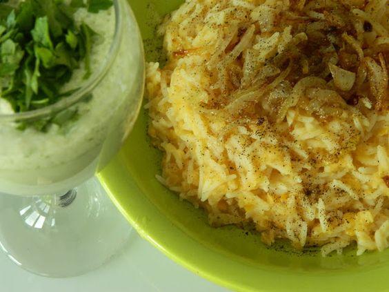 Mujaddara (mâncare arăbească de linte şi orez)