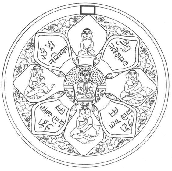 mandala colorier bouddhisme chakra asie mandala gratuit t l charger imprimer et. Black Bedroom Furniture Sets. Home Design Ideas
