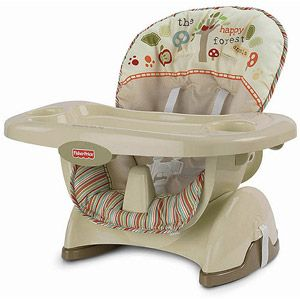 Fisher Price Space Saver High Chair, Woodsy Friends At Walmart