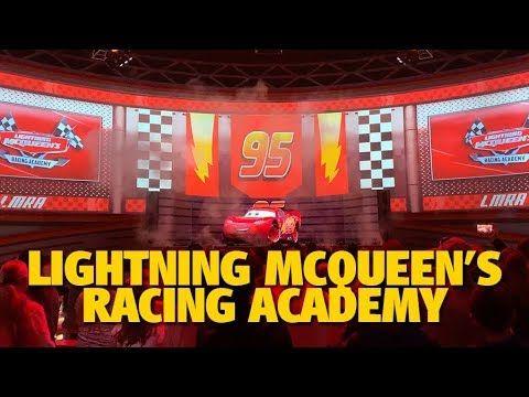 Lightning Mcqueen S Racing Academy Now Open Hollywood Studios Disney Lightning Mcqueen Disney Pixar Cars