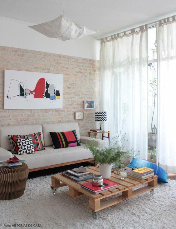 Sala maravilhosa. Pequena e fofa 😍 Ideia para a futura casa com o boy 👫