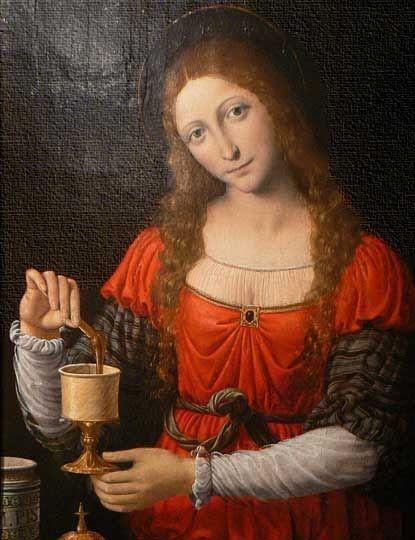 1524 Bernardino Licinio (1489-1565) Mary Magdalen: