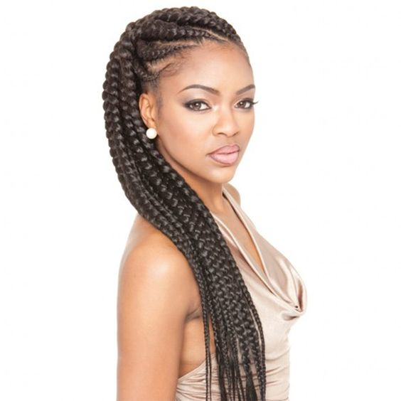 Prime Jumbo Braids Braids And Cornrow On Pinterest Hairstyle Inspiration Daily Dogsangcom