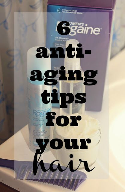 6 Tips for Age Proofing Your Hair #rogainetruevolume #gotitfree