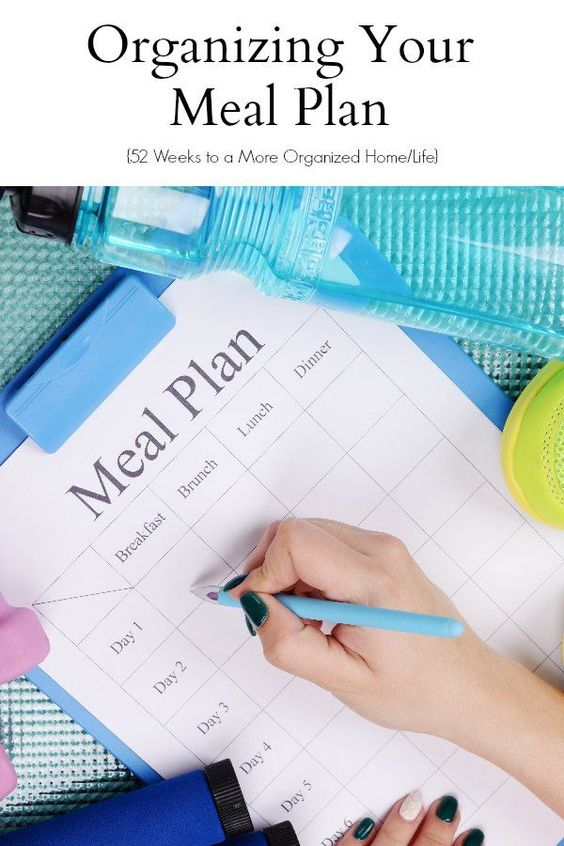 Organize Your Meal Plan :: One of the biggest time and money savers it utilizing meal plans - keep track of what your family enjoys and what is budget friendly can help keep your family on track!
