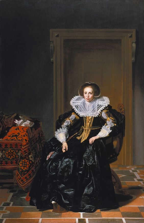 Madame de Pompadour (Two 1630s paintings by Thomas de Keyser; Portrait...)