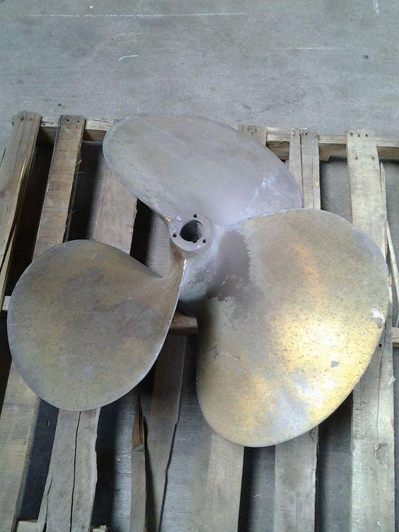 Propeller, Brass, Large