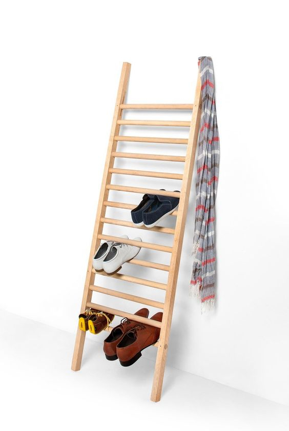Wooden shoe cabinet STEP UP - EMKO UAB: