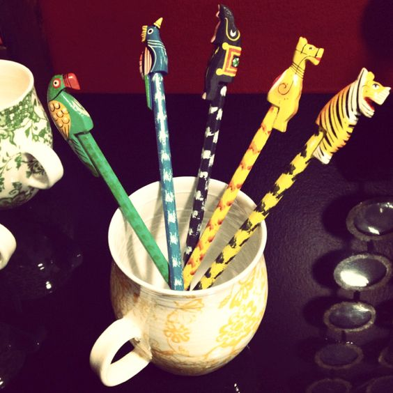 Love these animal pencils :)