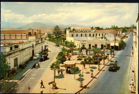 Calle Agustin Balsamo y comienzo del Secano por http://www.algecirasvirtual.es/