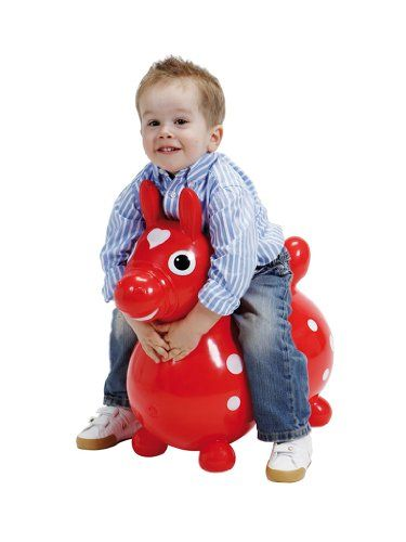 Hüpfpferd Rody, rot