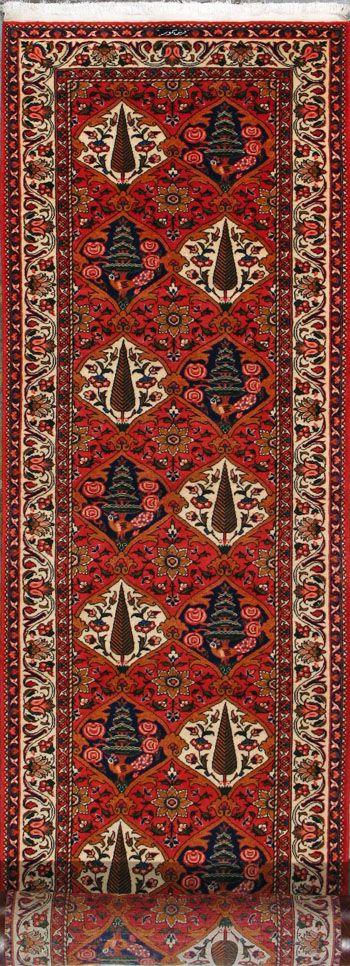 """Bakhtiari Persian Rug, Buy Handmade Bakhtiari Persian Rug 3' 1"""" x 18' 3"""", Authentic Persian Rug $4,224.50"""