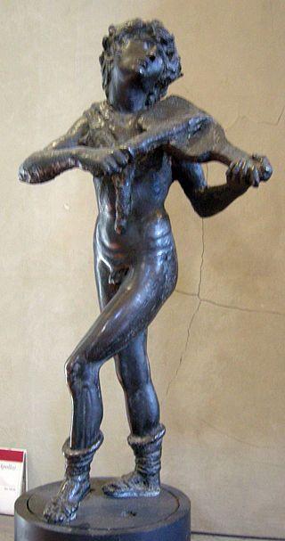 Bertoldo di Giovanni - Orfeo o Apollo - 1475-80 - Museo Nazionale del Bargello - Firenze