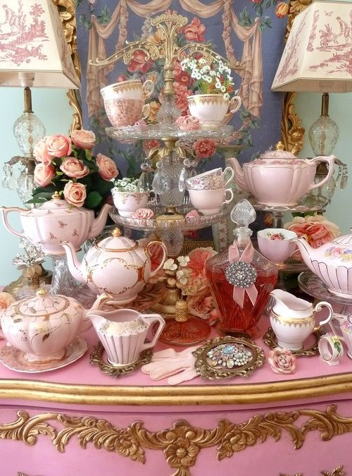 A  beautiful tea party amazing decor
