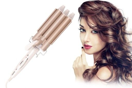 Falownica Do Wlosow Lokowka Kemei Karbownica 2w1 Hair Straightener Beauty Hair
