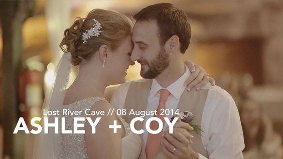 Ashley + Coy St. Clair Lost River Cave Wedding Film Bowling Green, KY