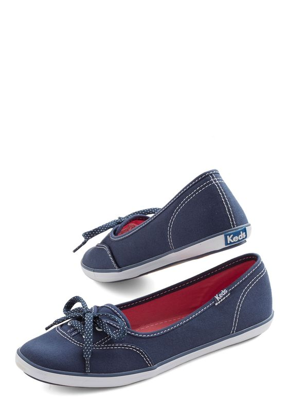 Coast of All Flat in Navy, #ModCloth