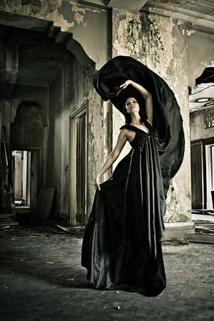 Black Gown.