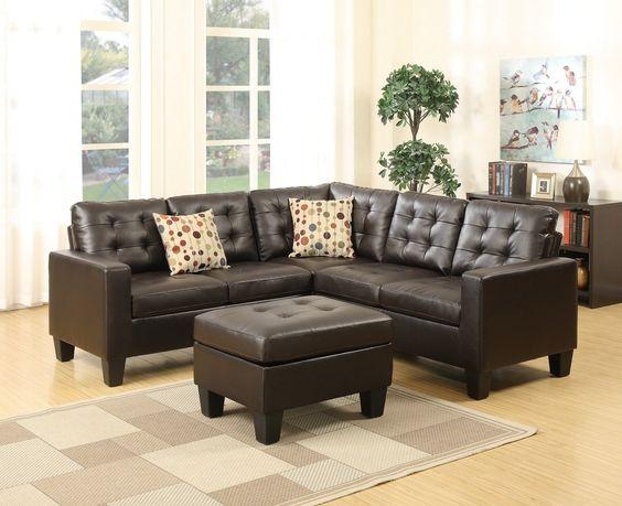 Ghế sofa góc đẹp cho phòng khách nhỏ