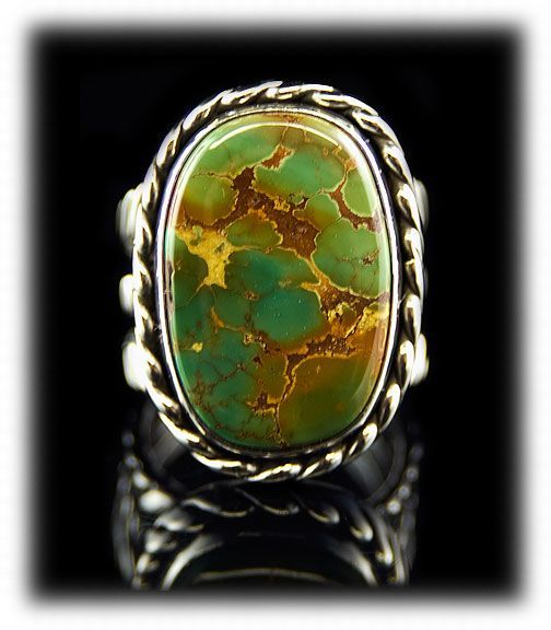 manassa turquoise | Portfolio Mens Manassa Turquoise Ring