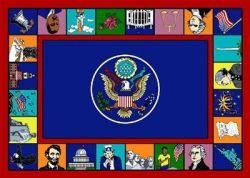 Symbols of America Rug