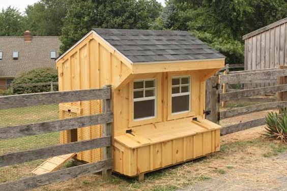 Cute chicken coop plans - photo#39