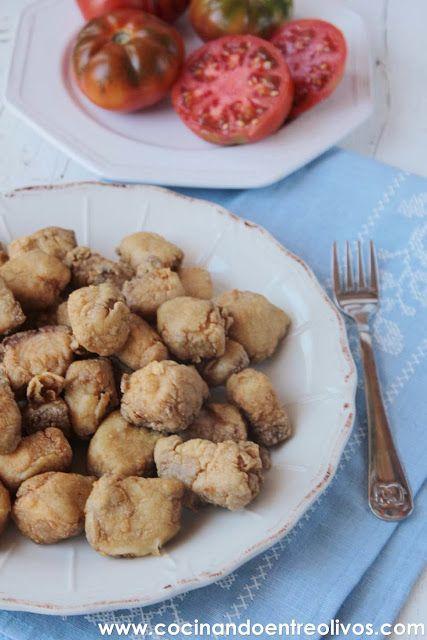 Cocinando entre olivos caz n en adobo receta paso a paso for Cocinando entre olivos
