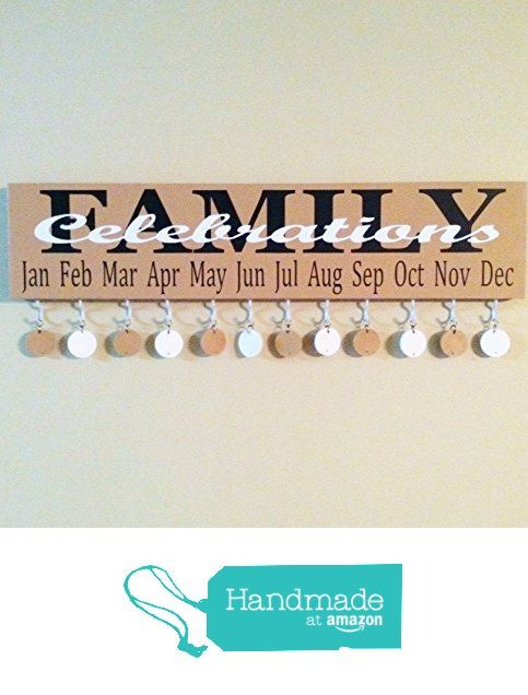 Family Celebrations Board from Workshop 117 http://www.amazon.com/dp/B01A2YI6IG/ref=hnd_sw_r_pi_dp_VSOIwb0RSJRJ8 #handmadeatamazon