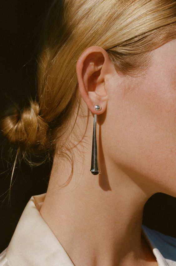 SOPHIE BUHAI - LOU LOU DROP EARRINGS…: