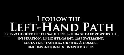 left-hand path <a href=