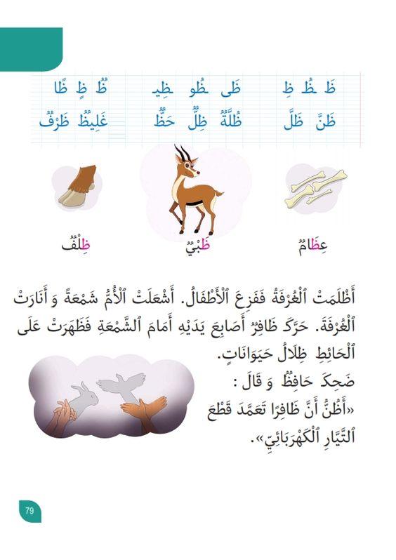 كتب مدرسية أنيسي كتاب القراءة لتلاميذ السنة الاولى من التعليم الاساسي موقع مدرستي In 2021 Arabic Alphabet For Kids Arabic Kids Learn Arabic Alphabet