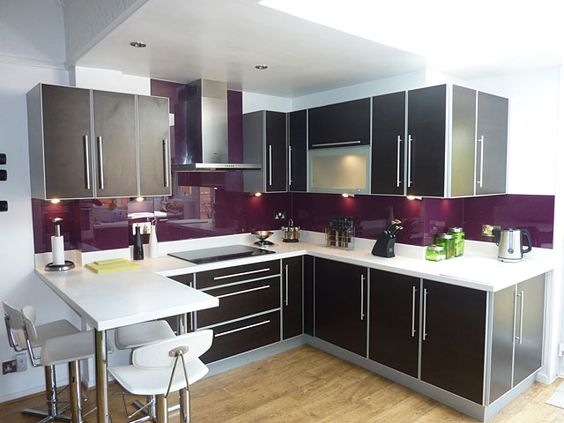 Purple, Purple Kitchen And Kitchens On Pinterest. Kitchen Island Track Lighting. Kitchen With Dark And Light Cabinets. Kitchen Remodel Queens. Indian Kitchen Interior Design Videos. Kitchen Cabinets Black Ikea. Tiny Luxury Kitchen. Kitchen Glass Table And Chairs. Country Kitchen Fort Payne Al