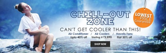 #Shopclues Chillout Zone Sale : Get Upto 55% OFF On AC, Fans & Coolers etc