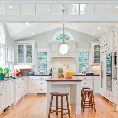 light bright airy kitchen design ideas pictures remodel