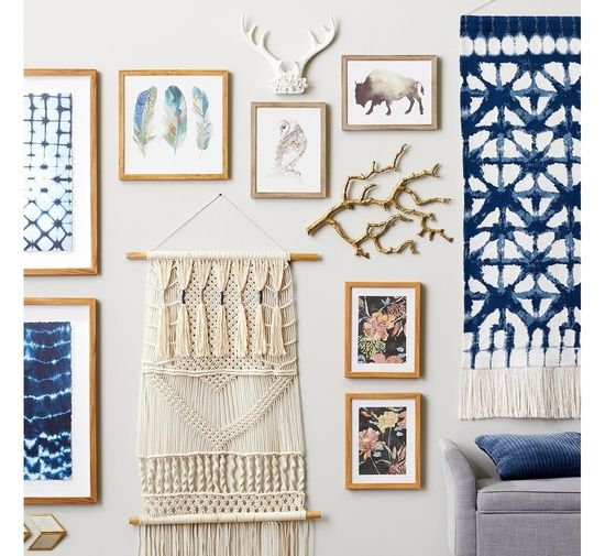 I Absolutely Love Every Piece On This Wall Click This Pin To Find Them All On Target Com Shopstyle Shopthelook Antlers Decor Antler Wall Decor Gallery Wall