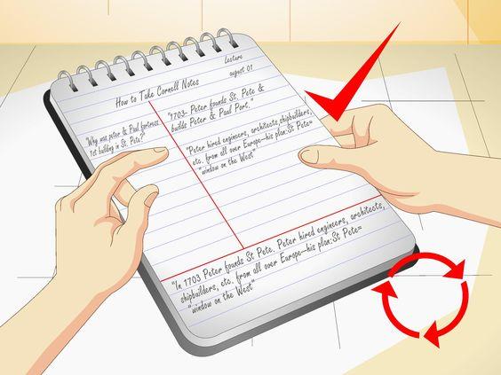 La méthode de prise de notes Cornell fut développée par Dr Walter Pauk de l'université de Cornell. Ce système est aujourd'hui largement utilisé pour prendre des notes lors d'une conférence, d'une séance de lecture et pour réviser et mémoris...