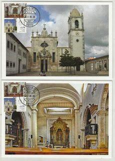 CTT - Rota das Catedrais - Sé Catedral de Aveiro, Portugal