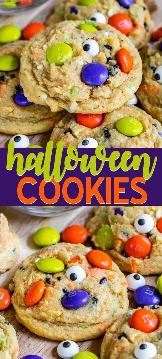 Halloween Cookies (Pudding Cookies)