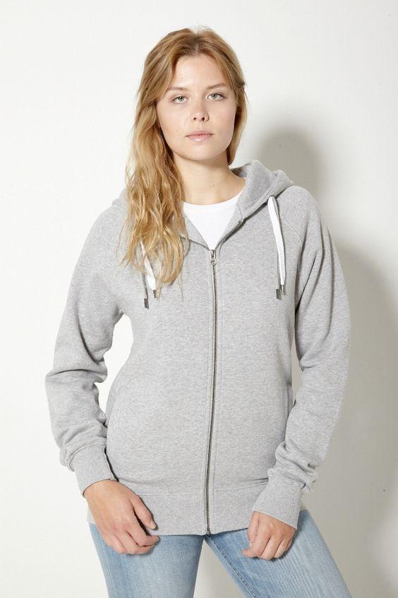 Frauen Kuschel-Hoody-Zip